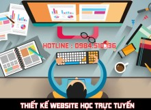 Thiết kế website học trực tuyến, elearning bán khoá học chuyên nghiệp