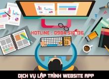 Dịch vụ lập trình web app chuyên nghiệp