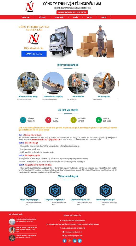 website-cong-ty-van-tai-nguyen-lam