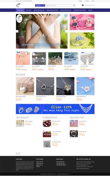 Website bán đồ trang sức