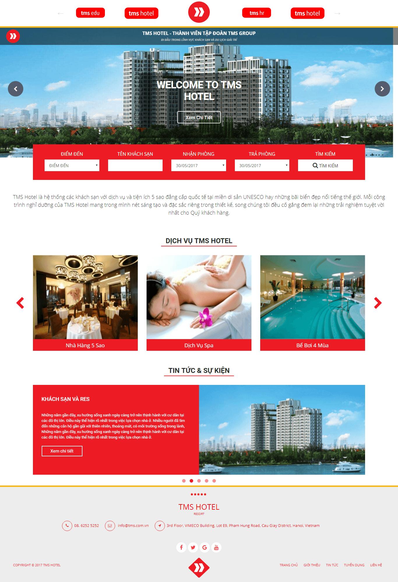 Website Khách Sạn 01 (Code Tay)