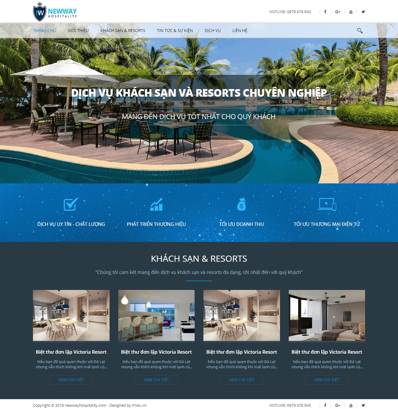 Website Khách Sạn 02