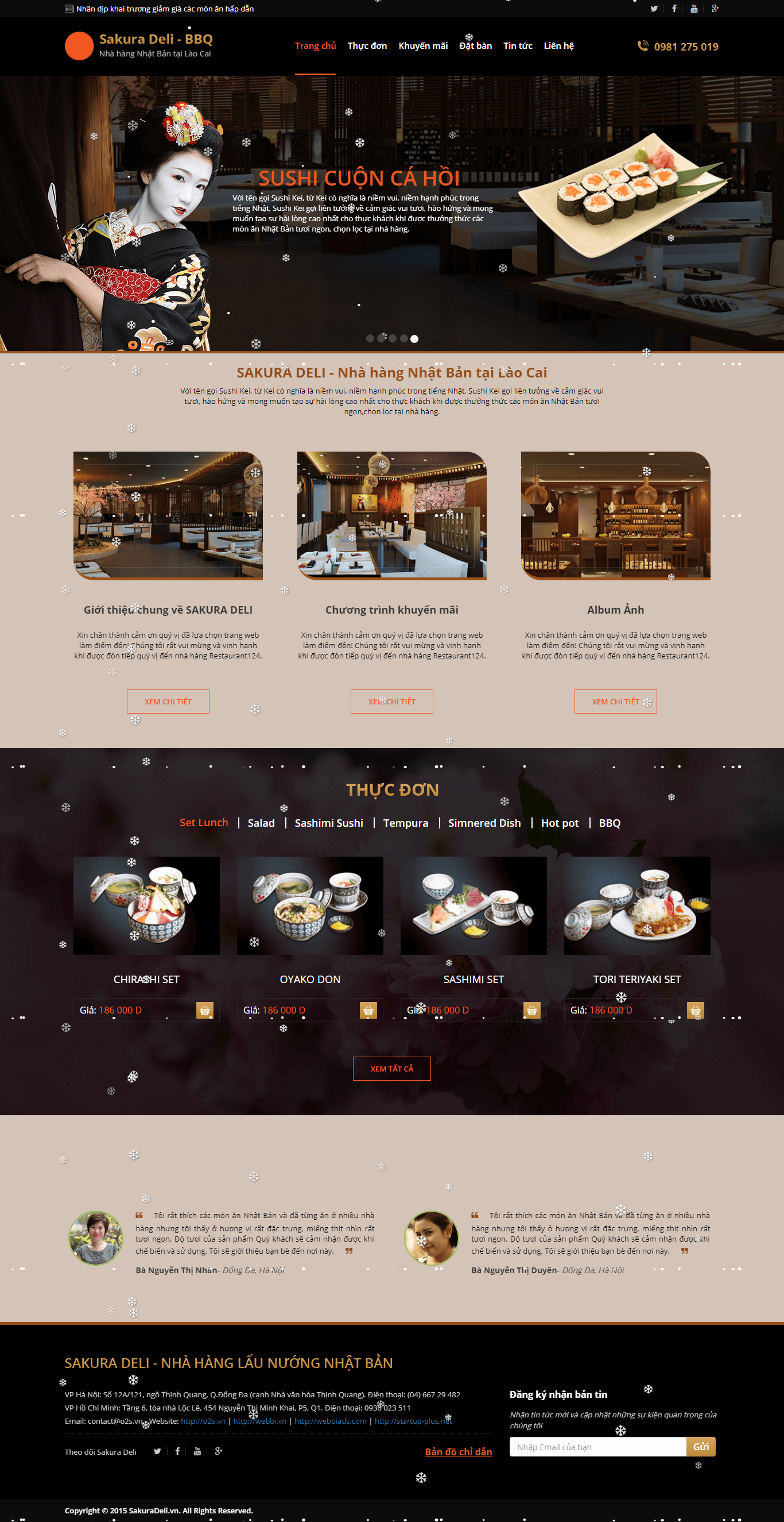 Website Nhà Hàng 01