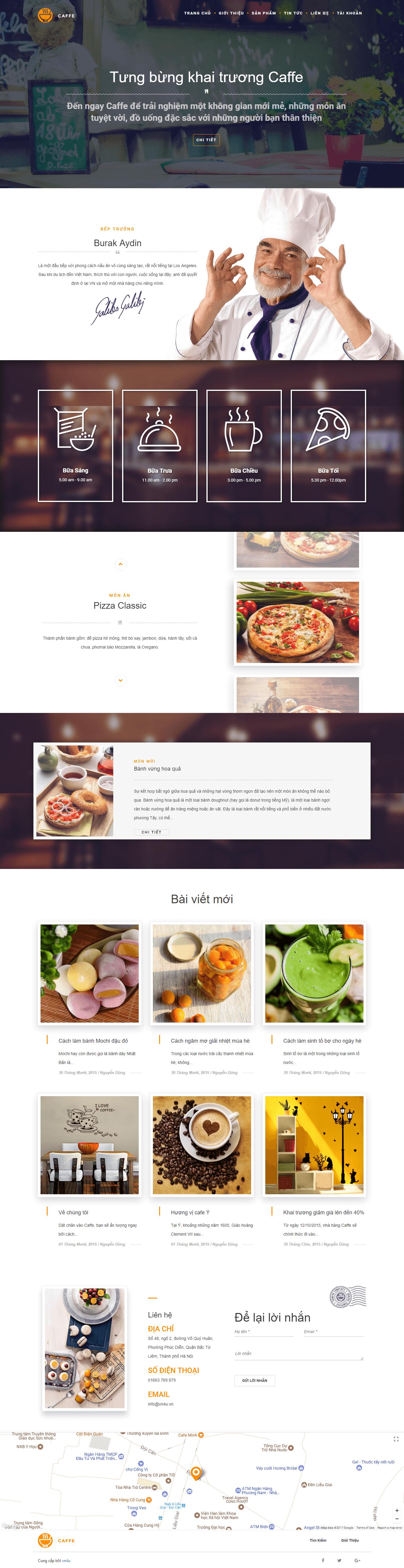 Website Nhà Hàng 02