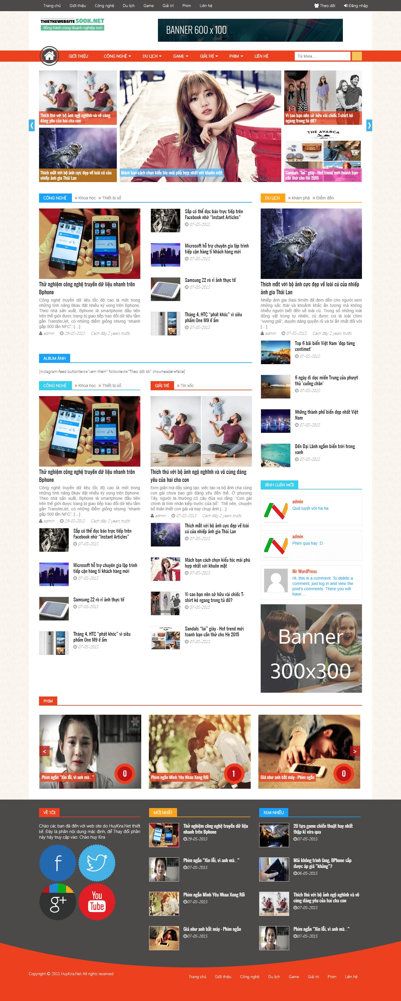 Website Tin Tức 03