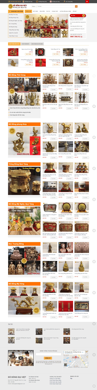 Website Bán Đồ Đồng